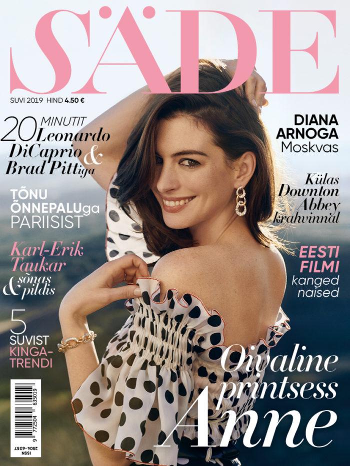 Ajakirja Säde esikaas, Suvi 2019, Anne Hathaway