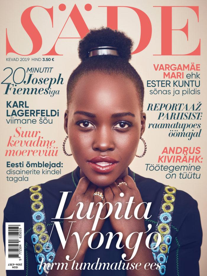 Ajakirja Säde esikaas, Kevad 2019, Lupita Nyong'o